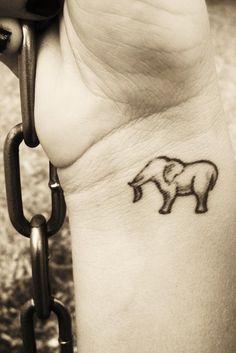 I want an elephant tattoo!!!