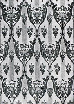 Art Nouveau Wallpaper Designs on WallpaperSafari Art Nouveau Wallpaper, Blog Wallpaper, Designer Wallpaper, Wallpaper Designs, Art Nouveau Pattern, Art Nouveau Design, Textile Patterns, Textile Design, Textiles