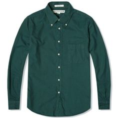 Individualized Shirts Brushed Flannel Shirt (Green)