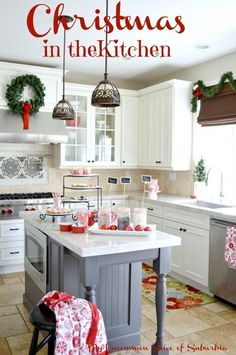 Christmas Decorating In The Kitchen