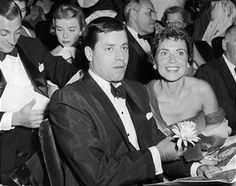 Jerry and Patti Lewis - circa 1956