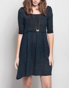 Vestido cuello cisne flores Double Agent #fashion #clothes #new