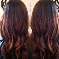 Caramel, Hazelnut Balayage Ecaille, tortoiseshell  Hair by Sarah English