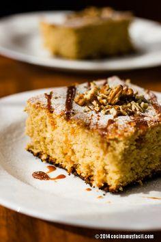 Preparar un pastel de elote es sencillísimo! Aquí te decimos cómo --> http://cocinamuyfacil.com/pastel-de-elote/
