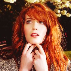 Florence Welch- want this hair!