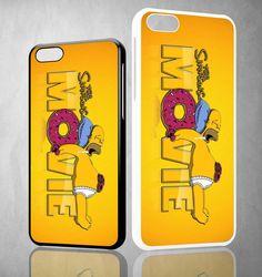 homer simpson movie Y1288 iPhone 4S 5S 5C 6 6Plus, iPod 4 5, LG G2 G3 Nexus 4 5, Sony Z2 Case