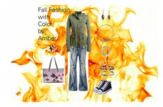 """Fall fashion, with Color by Amber"" by breezybh on Polyvore featuring American Eagle Outfitters, Aéropostale and Samudra"