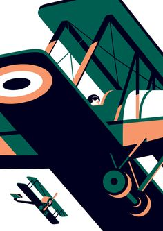 American flyers — Malika Favre Stunning illustration and beautifully cropped. Russ Henderson: Art Director