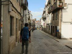 On the streets of Santiago de Compostela