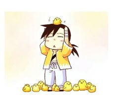 Ling Yao is quite popular with the chicks. ;) AAAAAAAAAW!! SO CUTE!