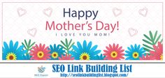 Happy Mothers Day  #God could not be #everywhere and therefore he made #mothers.   #HappyMothersDay #SEOLinkList