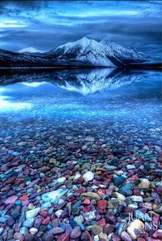 Beautiful Glacier National Park…