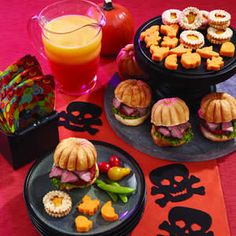 Halloween Food Hors D 39 Oeuvres Cheese And Cracker