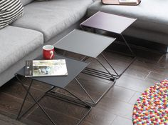 Geometical coffee tables