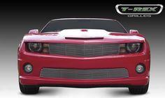 Camaro Grille 10-13 Chevrolet Camaro Aluminum Polished Billet Series T-REX Grilles