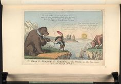 20 December 1808.Bodleian Libraries, The bear,the monkey,the turkey and the bull or- the true cause of the Russian war.Satire on the Napoleonic wars. (British political cartoon); A satire on the Treaty of Tilsit,between Tsar Alexander I and Napoleon.Napoleon, as a monkey,urges the Russian bear to make war on Britain.