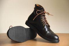 Junkard Black Shell Cordovan Boots
