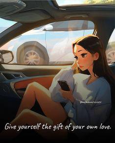 Cartoon Girl Images, Cartoon Girl Drawing, Cartoon Art Styles, Girl Cartoon, Cartoon Drawings, Cute Cartoon, Girly Drawings, Anime Girl Drawings, Anime Art Girl