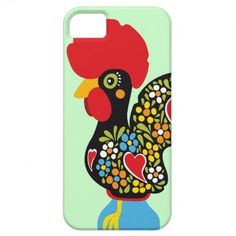 50% off all device cases - today only! USE CODE: MONDAYCASE72 Famous Rooster of Barcelos Nr 06 iPhone 5 Cover