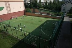 The sports facilities at AAS include three soccer fields, three tennis courts, two gymnasiums, and a dance studio.