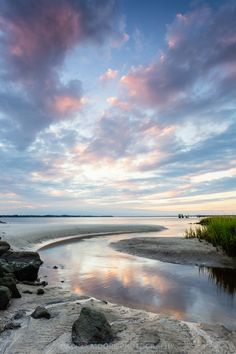 Sunset on the South End, Amelia Island, Florida