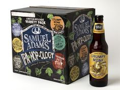 Packaging of the World: Creative Package Design Archive and Gallery: Samuel Adams IPA Hop-logy