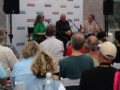 Went for lunch, got to see Murray McLaughlan and Sylvia Tyson chatting - tweeted by @Sean Carruthers