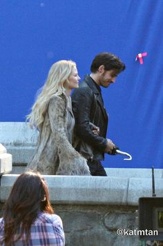 "Colin O'Donoghue and Jennifer Morrison - 5 * 1 "" Dark Swan"" 14 July 2015"