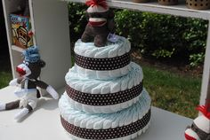 monkey baby shower ideas | Sock Monkey Inspired Baby Shower | a blog by Clemens Designs