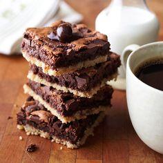 Coffee and Cookie Brownies