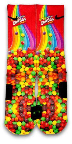 Skittles Custom Elite Socks