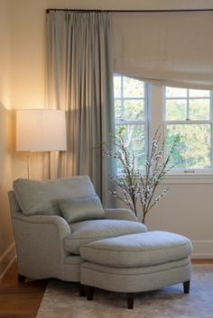 Love the cozy reading place and l& in the corner of the room & How to Style a Reading Nook | BH\u0026G Articles | Pinterest | Coffee ...