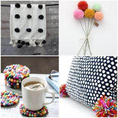tendencia pompom tessel decor