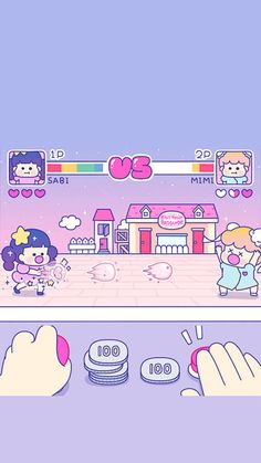 Cute Pastel Wallpaper, Kawaii Wallpaper, Tumblr Wallpaper, Wallpaper Backgrounds, Iphone Wallpaper, Screen Wallpaper, Aesthetic Art, Aesthetic Anime, Cute Lockscreens