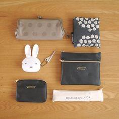 可愛すぎた立体ミッフィーがま口!バッグの中の癒しアイテム|LIMIA (リミア) What In My Bag, What's In Your Bag, What's In My Purse, Minimal Wardrobe, Miffy, My Makeup Collection, Cute Purses, You Bag, My Bags