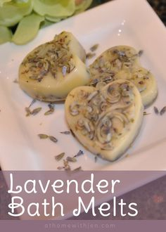 DIY Lavender Bath Melts - #DIY Great for a Mother's Day Gift