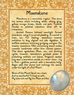 Moonstone by minimissmelissa.deviantart.com on @deviantART