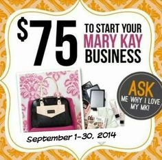Start your new business today and love what you do. Contact me at agillispie1@marykay.com