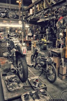 "combustible-contraptions: "" The Shop 