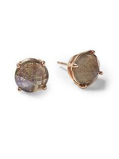 Heather Hawkins Spike Cut Gemstone Studs | Piperlime