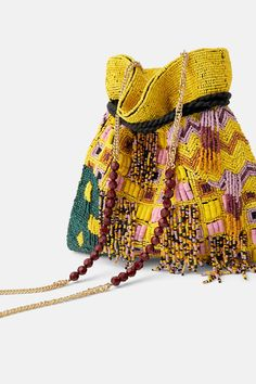How To Buy Designer Bags With Confidence – Best Fashion Advice of All Time Beaded Purses, Beaded Bags, Zara, Potli Bags, Embroidery Bags, Hippie Bags, Designer Wallets, Mellow Yellow, Handmade Bags
