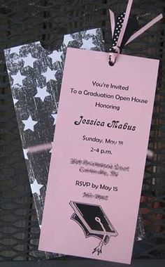 the best homemade graduation open house invitations wow your guests - Graduation Open House Invitation Wording