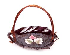Vintage Occupied Japan Porcelain Basket by LeVintageGalleria, $22.00 Gym Bag, Beautiful Pictures, Porcelain, Basket, Japan, Unique Jewelry, Handmade Gifts, Bags, Collection