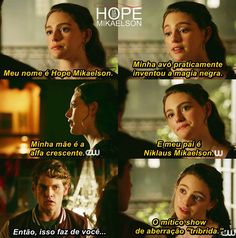The Vampire Diaries, Vampire Diaries The Originals, Series Movies, Book Series, Frases Tvd, Klaus Tvd, The Orignals, The Mikaelsons, Hope Mikaelson