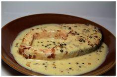 La cocina de Padawan: Salmón a la pimienta verde