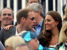 Will & Kate at Equestrian event to cheer on Zara Philips. July 31, 2012.