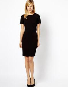 Image 4 ofA Wear Short Sleeve Smart Dress