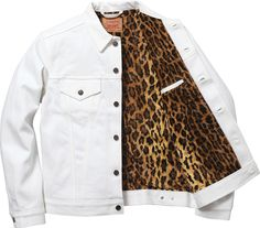Levi's X Supreme Trucker Jacket 2012 i actually really like this jacket.. i would look sexi in it..