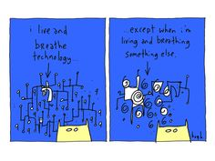 Technology by www.gapingvoidart.com  $125.00