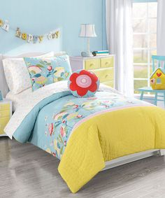 Another great find on #zulily! Happy Valley Comforter Set by Morgan Home Collection #zulilyfinds